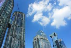 Stads- plats i shenzhen Arkivfoto
