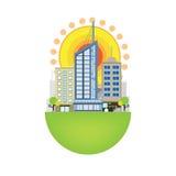 Stads- platsdesign Arkivbilder