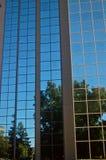 stads- reflexioner Arkivfoto