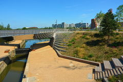 stads- regeneration arkivfoton