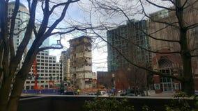 stads- rivning Arkivfoto