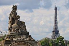 Stads- sceniskt av Paris Arkivfoton