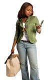 stads- sexig shoppare Royaltyfri Bild