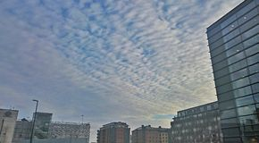 Stads- Sky Royaltyfri Foto