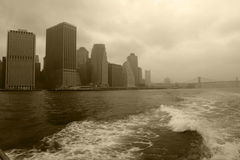 stads- skyskrapor arkivfoto