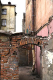 stads- slums Royaltyfri Fotografi
