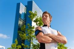 Stads- sportar - kondition i staden arkivfoton