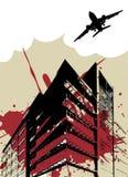 stads- stad vektor illustrationer