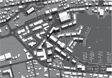 stads- stad Royaltyfri Fotografi