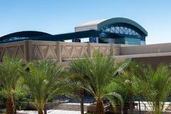 Stads- streetscapes och byggnader i i stadens centrum Phoenix, AZ Royaltyfri Fotografi