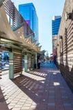 Stads- streetscapes och byggnader i i stadens centrum Phoenix, AZ Royaltyfria Bilder