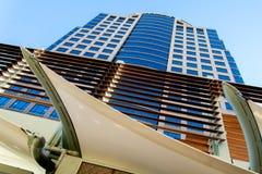 Stads- streetscapes och byggnader i i stadens centrum Phoenix, AZ Fotografering för Bildbyråer