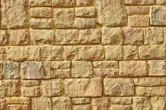 Stads- textur för bakgrund för vägg för gatakalkstensten, tappning Mo Arkivfoto