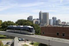 stads- trans. Arkivbild