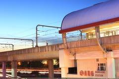 Stads- transport Arkivfoto
