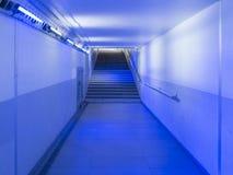 Stads- tunnelbanapassage Arkivfoto