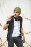 stads- ungdom för grunge Arkivbild