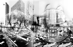 stads- utveckling Royaltyfri Foto