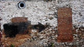 stads- vägg Arkivbild