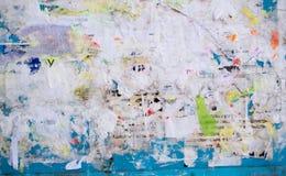 stads- vägg för affisch Fotografering för Bildbyråer