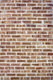 stads- vägg för bakgrundstegelsten Fotografering för Bildbyråer