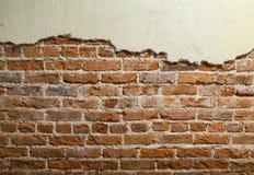 stads- vägg för tegelsten Royaltyfri Fotografi