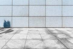 Stads Vierkante bestrating Stock Foto's