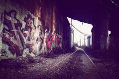 Stads- wallart Royaltyfria Bilder