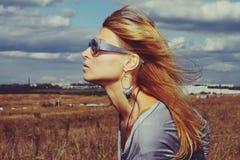 Stads- wind Royaltyfria Bilder