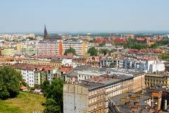 stads- wroclaw för cityscape Arkivfoto