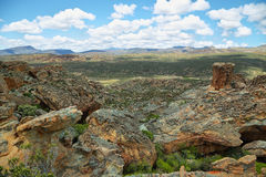 Stadsaal caves in Cederberg. Amazing landscape from Stadsaal caves in Cederberg nature reserve, South Africa Stock Images