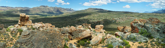 Stadsaal caves in Cederberg Stock Photography