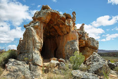 Stadsaal caves in Cederberg. Nature reserve, South Africa Stock Image