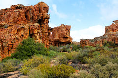 The Stadsaal Caves landscape in the Cederberg, South Africa. Stock Photo