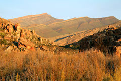 The Stadsaal Caves landscape in the Cederberg, South Africa Royalty Free Stock Image