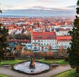 Stadsarchief van Bamberg stock foto