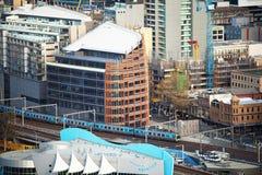 Stadsarchitectuur Melbourne Stock Foto