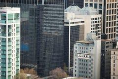 Stadsarkitektur Melbourne Arkivbild