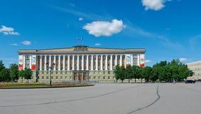 Stadsbeleid Veliky Novgorod stock afbeeldingen