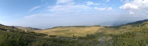 stadsberg över Arkivbilder