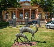 Stadsbibliotheek in Sombor Stock Foto