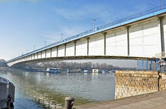 Stadsbro arkivbild