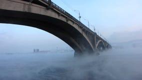 Stadsbrug. stock footage