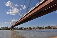 Stadsbruggen stock foto