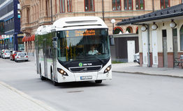Stadsbus in Sundsvall Stock Afbeelding