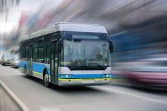 Stadsbuss Royaltyfria Foton