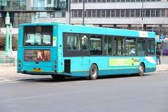 Stadsbuss i UK Royaltyfri Foto