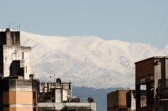 Stadsbyggnader - Tucuman - Argentina arkivfoton
