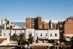 Stadsbyggnader - Tucuman - Argentina Royaltyfria Bilder