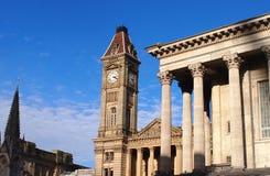Stadscentrum van Birmngham, Engeland stock foto's